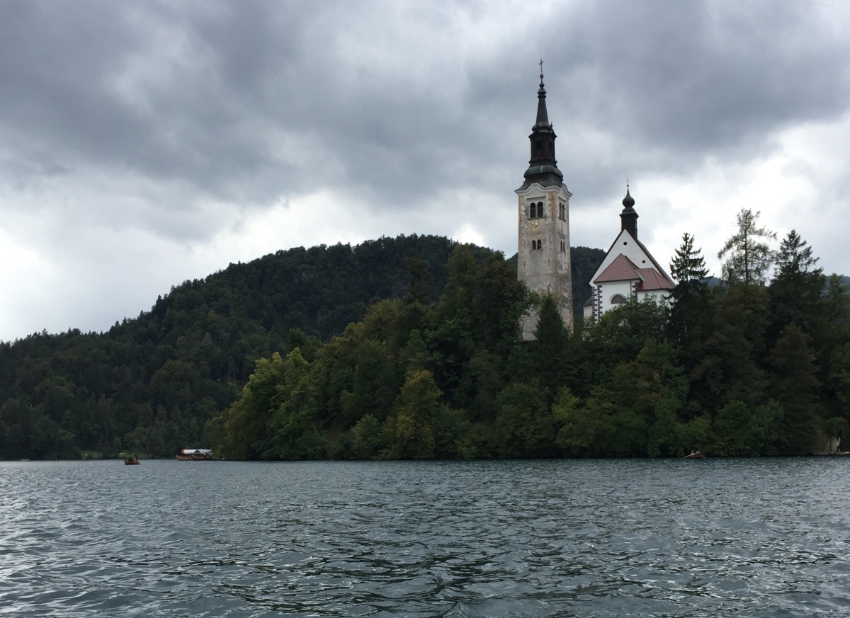 Two Lakes:  Bled and Bohinj